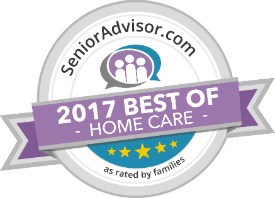 2017 Best of Home Care by SeniorAdvisor.com