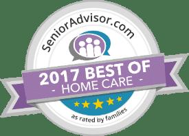 2017 Best of Home Care by SeniorAdvisor.com