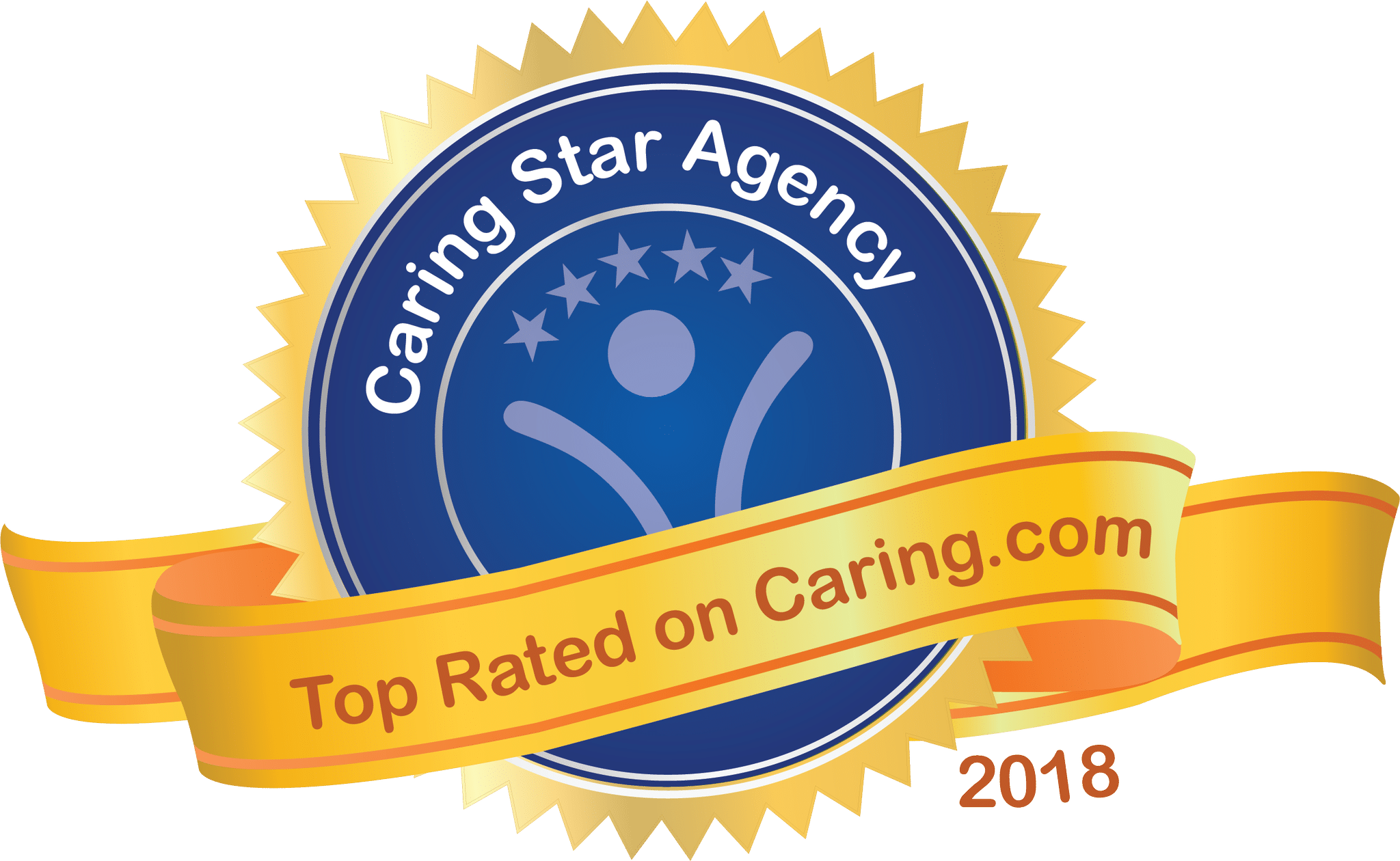 Caring Star Agency 2018. Top Rated on Caring.com