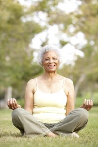 Elder Care in Lawrenceville GA: Yoga and Chronic Health Issues