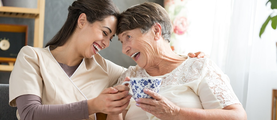 Caregiver in Duluth GA: National Humor Month