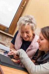 Home Care in Flowery Branch, Georgia: Scrapbooking with your Aging Parent