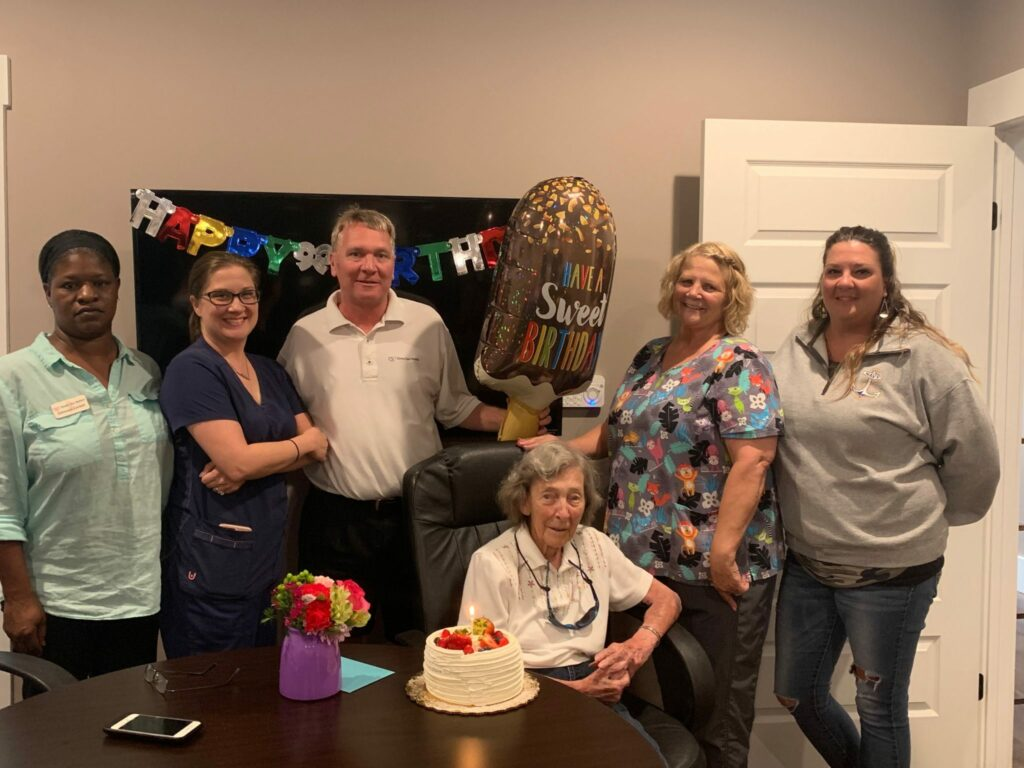 Happy 99th Birthday Mrs. Bell!