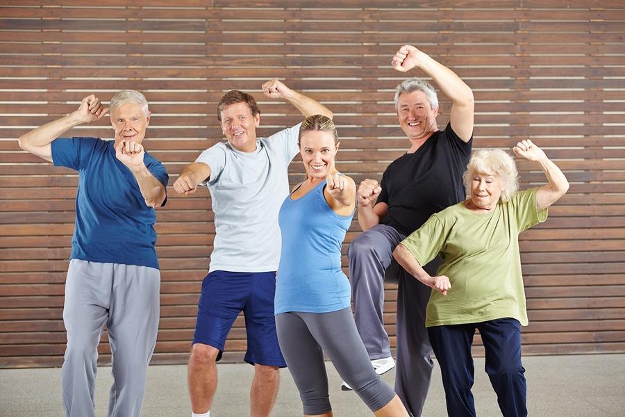 Home Health Care in Gainesville GA: Senior Exercise