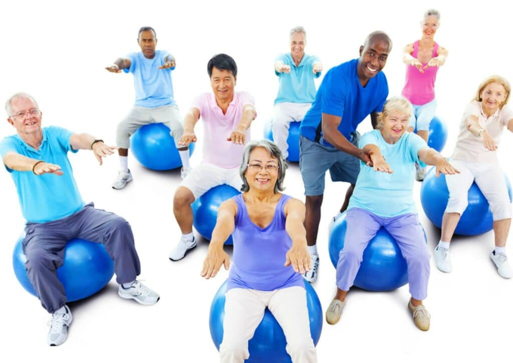 Caregiver in Suwanee GA: Senior Exercise