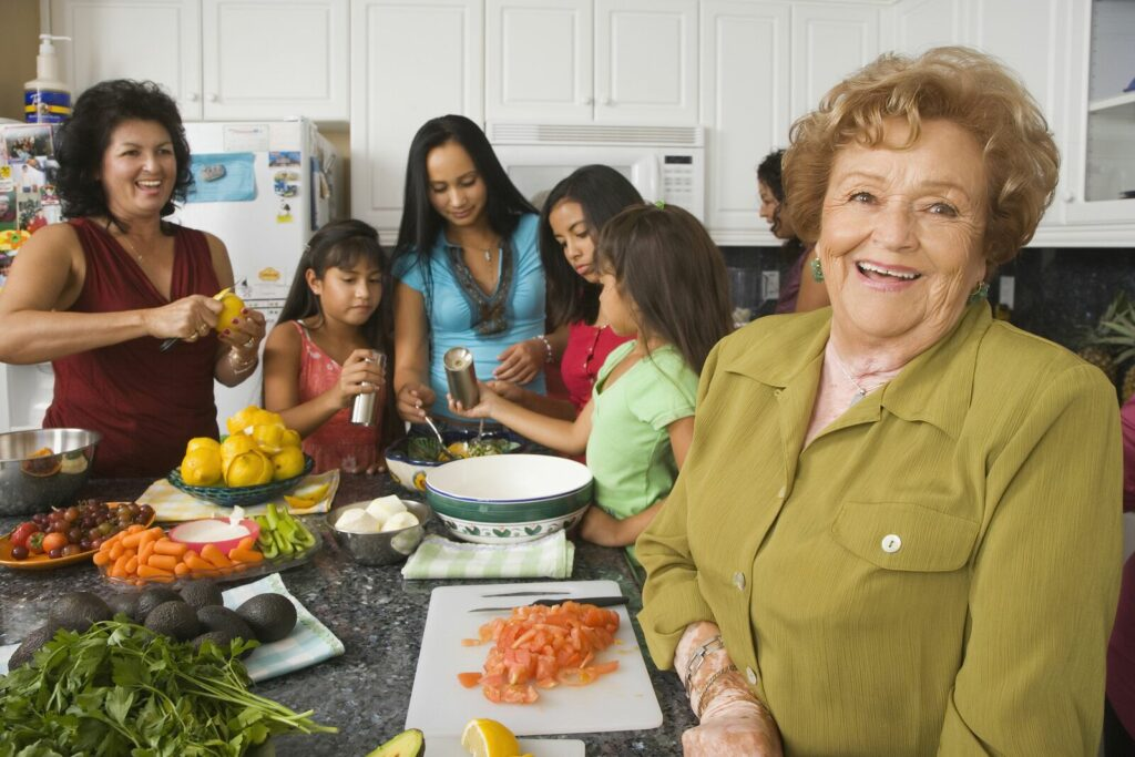 Home Care in Duluth GA: Family Sunday Supper Benefits