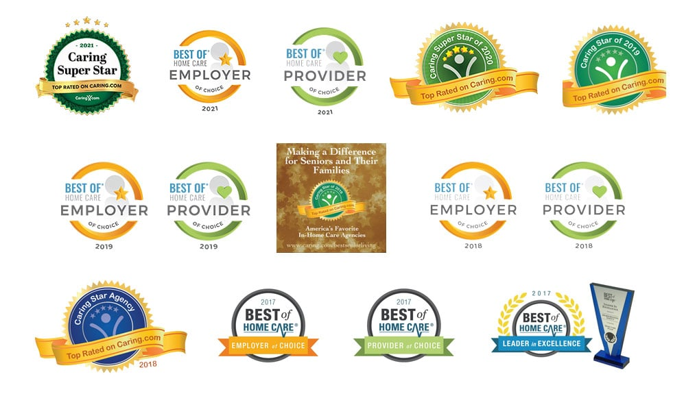 Awards won by Home Care Matters