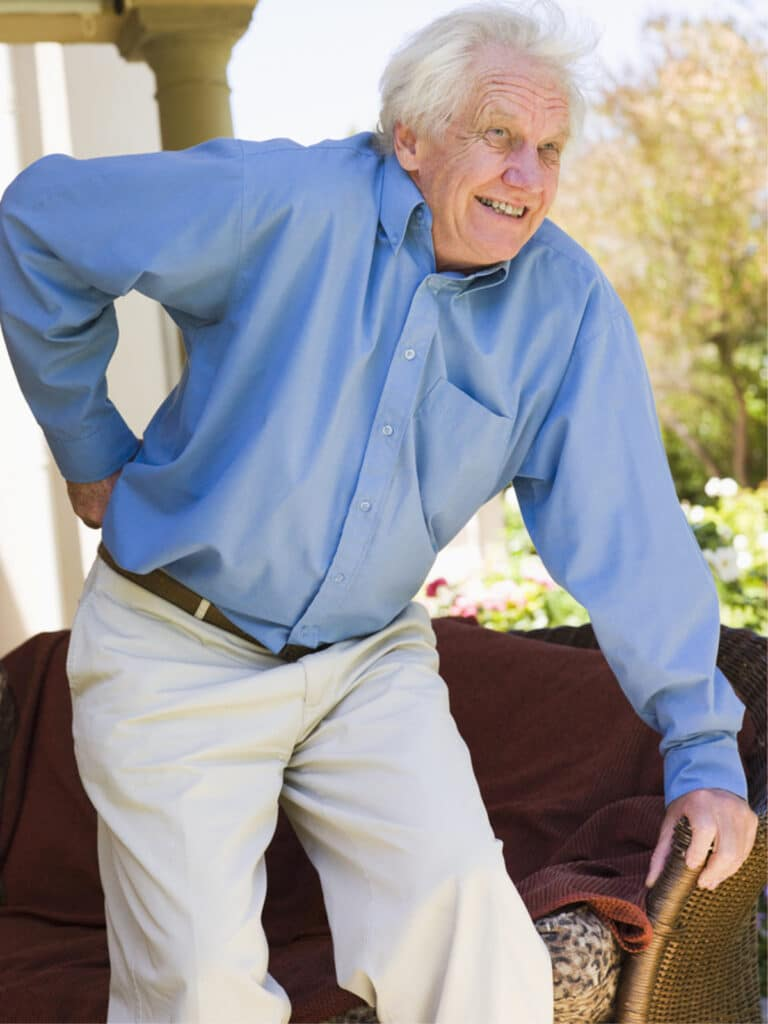 Senior Care in Oakwood GA: Back Pain